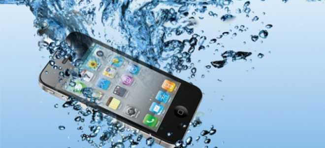 Как спасти утопленный айфон?