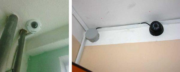 Камеры видеонаблюдения для квартиры с записью и звуком